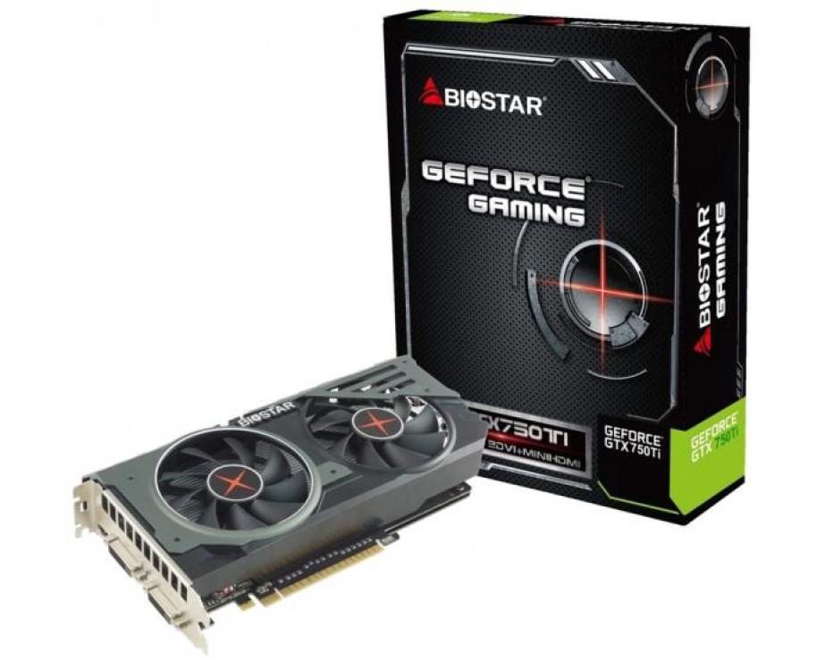 BIOSTAR announces new GeForce GTX 750 Ti video card
