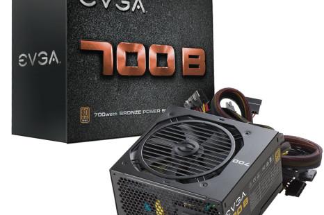 EVGA announces 700B power supply unit
