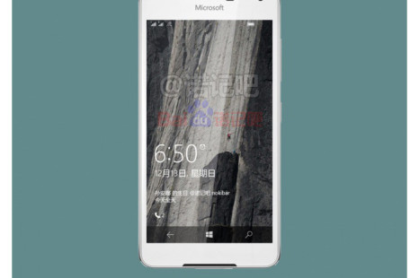 Microsoft's Lumia 650 leaked online