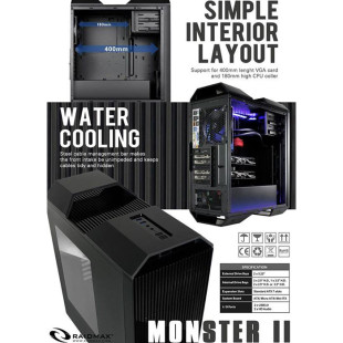 Raidmax prepares Monster II PC chassis