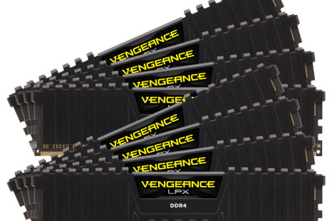 Corsair announces ultra fast DDR4 memory kits