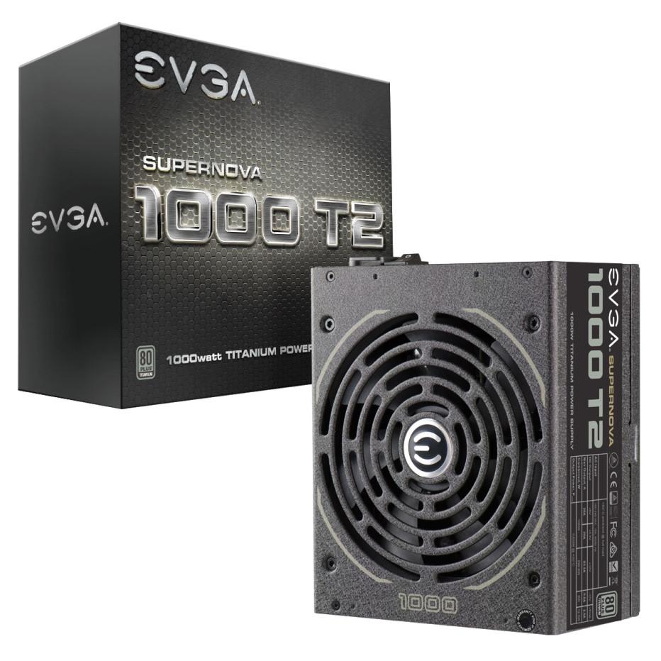 EVGA debuts SuperNOVA T2 Series PSUs