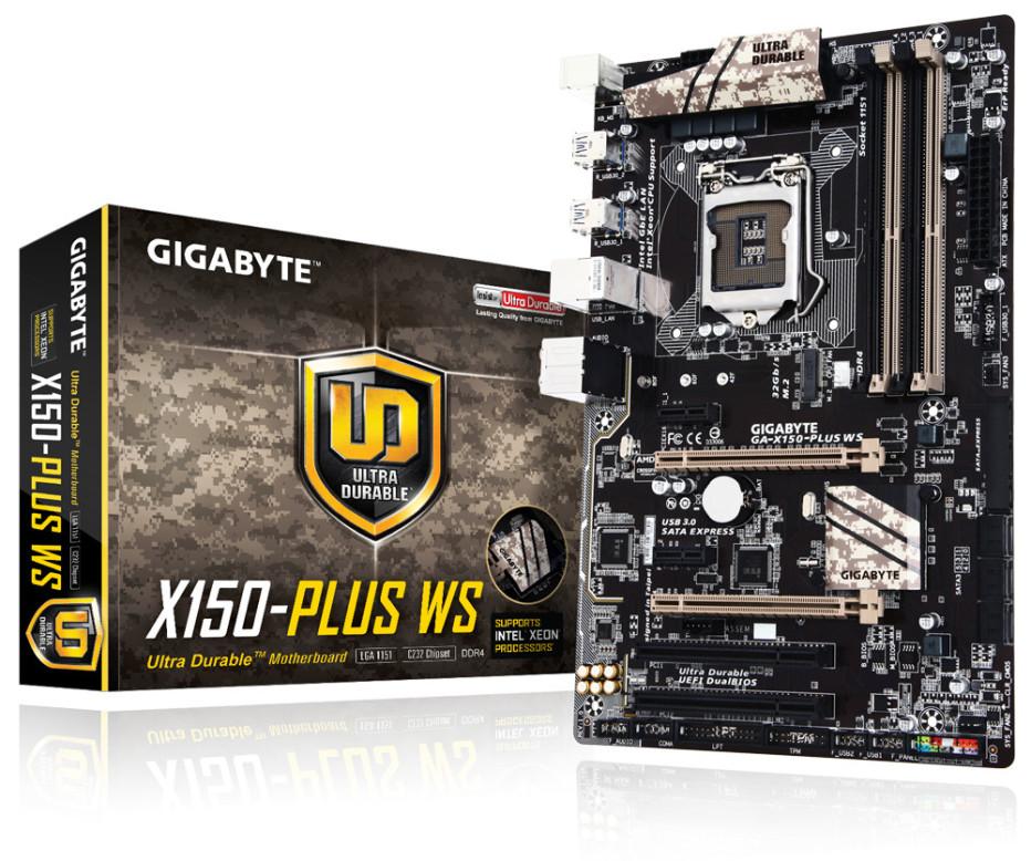 Gigabyte debuts three new LGA 1151 motherboards