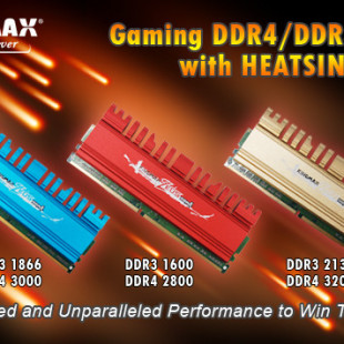 Kingmax prepares Zeus DDR4 memory