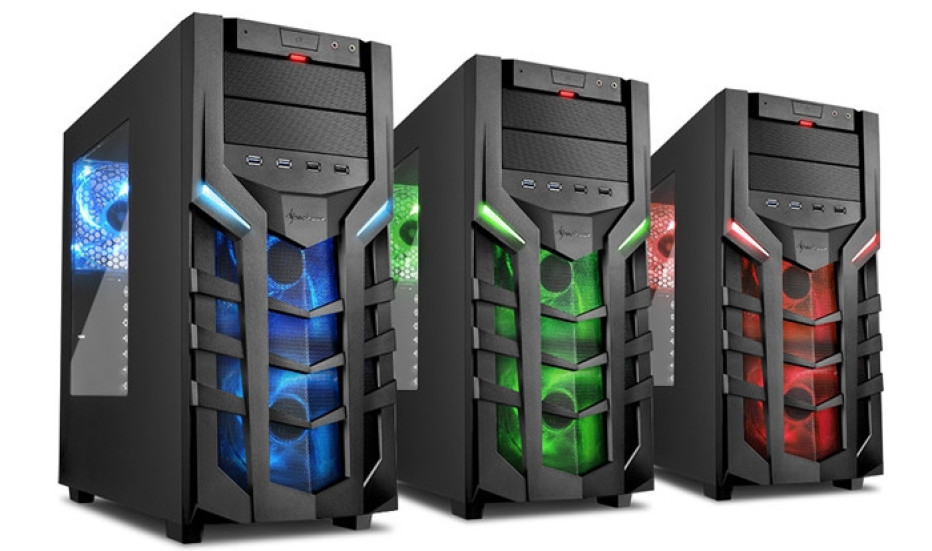 Sharkoon debuts the DG7000 case for gamers