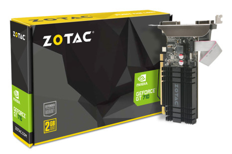 NVIDIA unveils the GeForce GT 710 graphics card