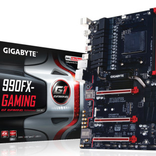 Gigabyte presents 990FX-Gaming AM3+ motherboard
