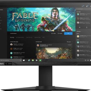 Lenovo presents curved Y27g monitor