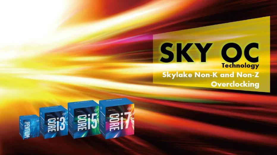 ASRock removes Sky OC technology