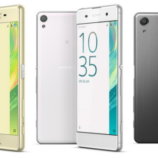 Sony presents Xperia X, XA and X Performance smartphones
