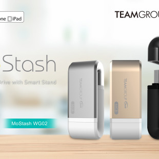Team Group presents the MoStash iOS flash drive