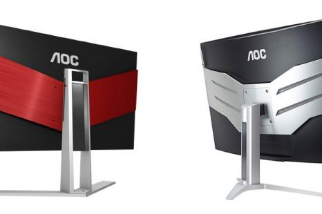 AOC presents Agon monitors