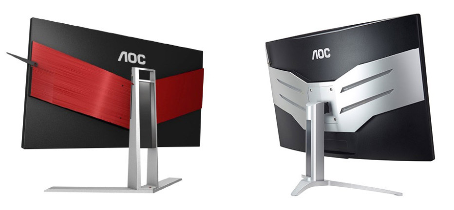 AOC presents Agon monitors
