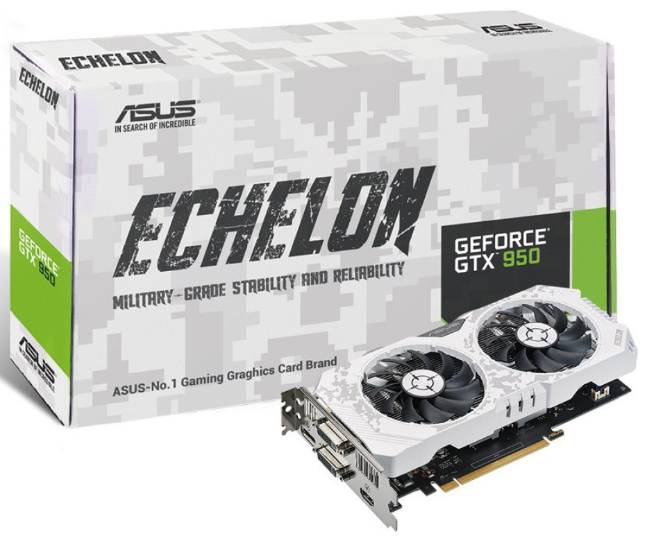 ASUS outs Echelon GTX 950 graphics card