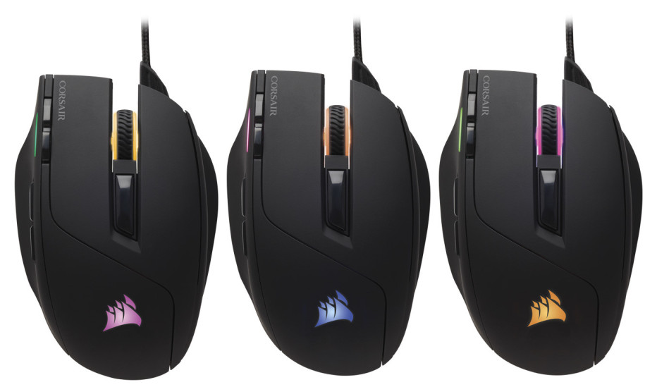 Corsair announces the Sabre RGB gaming mouse