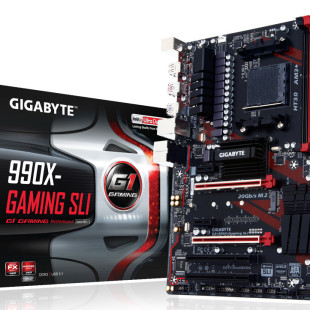 Gigabyte debuts the 990X-Gaming SLI motherboard