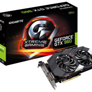Gigabyte presents backlit GTX 960 video card