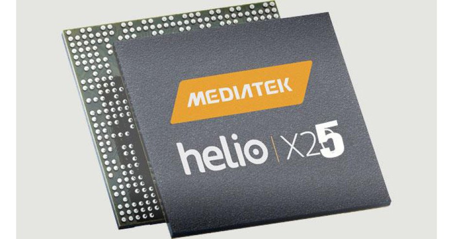 MediaTek announces the Helio X25 processor