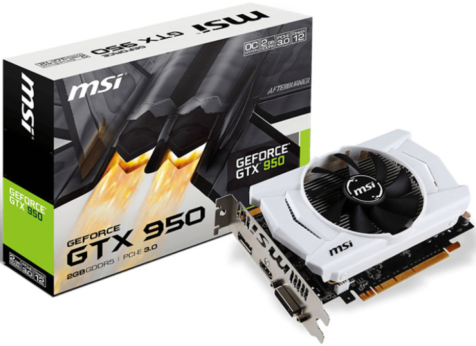 MSI presents new GTX 950 cards