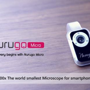 Nurugo Micro is a smartphone microscope