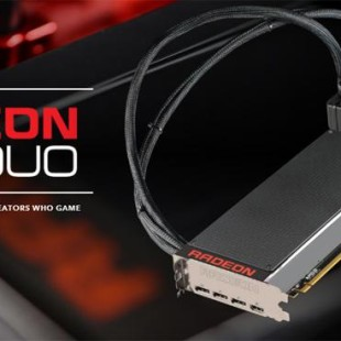 AMD presents the Radeon Pro Duo video card