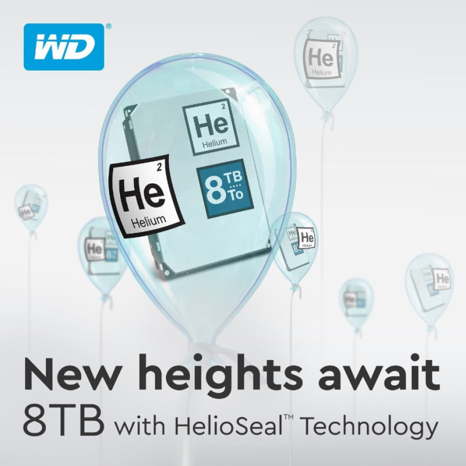 Western Digital adds new 8 TB hard drives to product portfolio