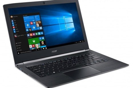 Acer's Aspire S 13 notebook is very thin