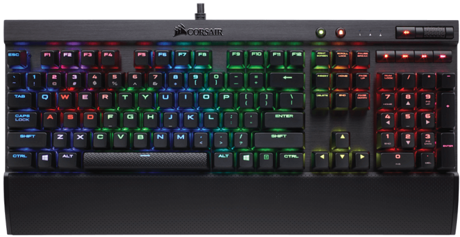 Corsair presents three new gaming keyboards