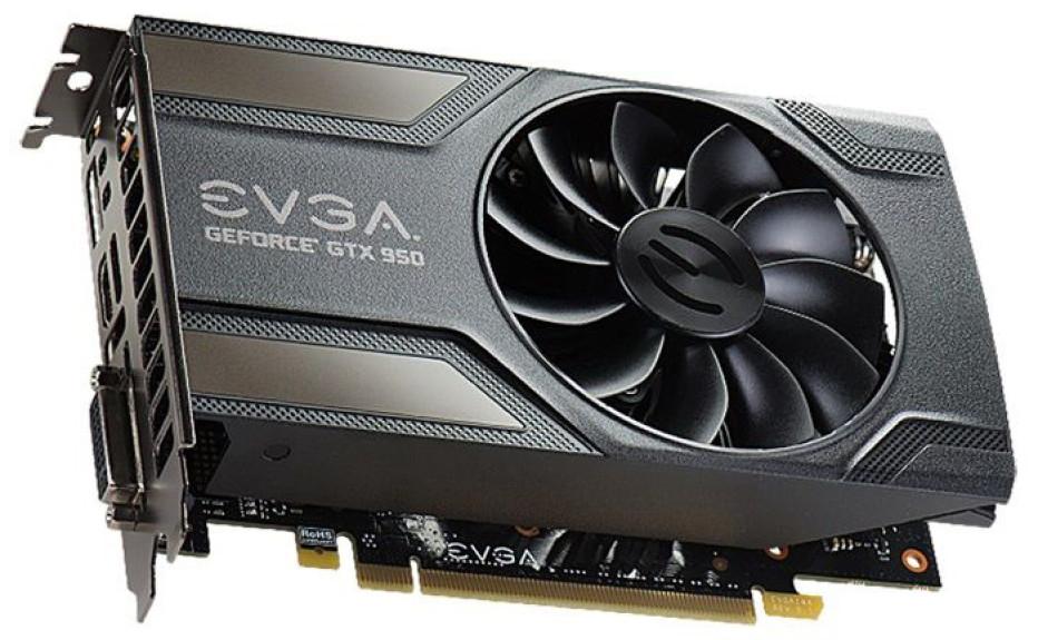 EVGA presents energy-efficient GTX 950 video cards