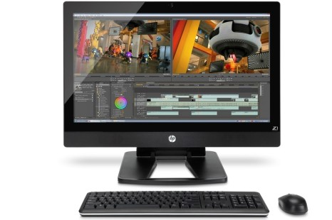 HP announces its first AIO workstation