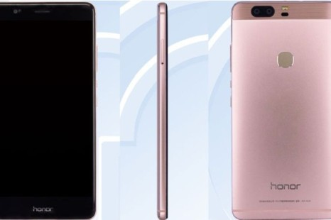 TENAA certifies the Huawei Honor V8 smartphone