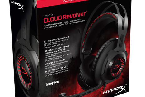 Kingston debuts the HyperX Revolver headset