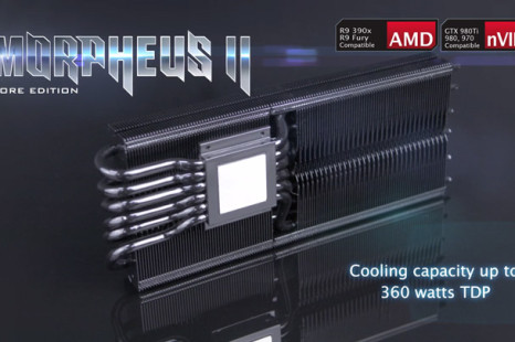 Raijintek announces Morpheus II Core Edition VGA cooler