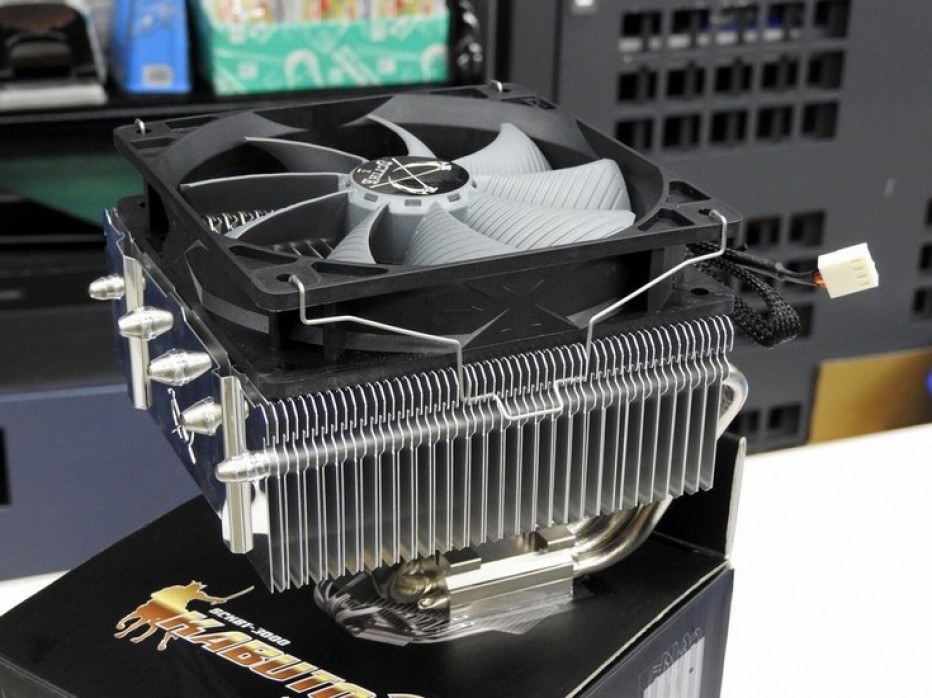 Scythe prepares Kabuto 3 CPU cooler