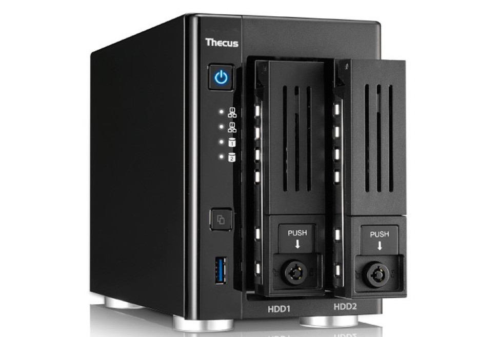 Thecus improves its N2810 NAS device