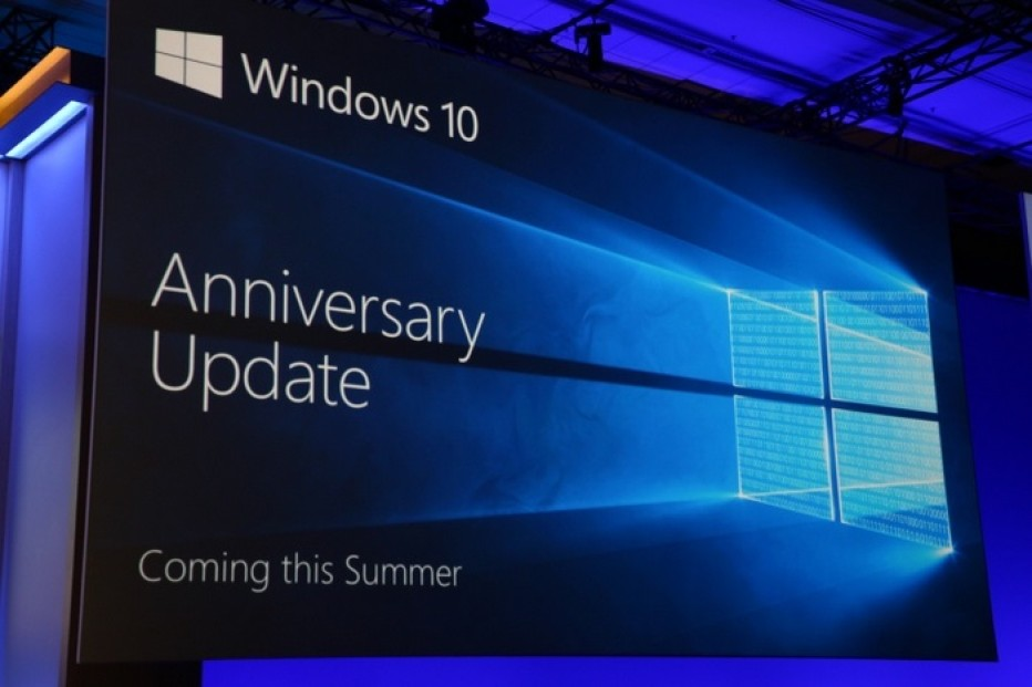 Microsoft announces Anniversary Update for Windows 10