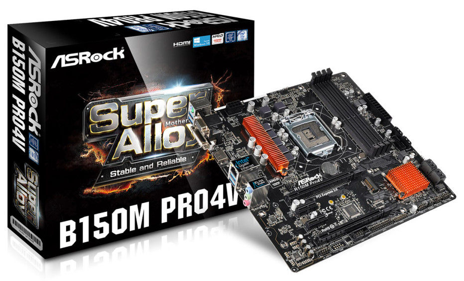 ASRock releases the B150M Pro4V motherboard