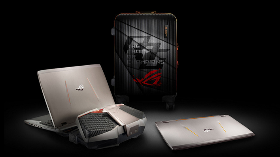 ASUS will unveil GX800 gaming notebook at Computex