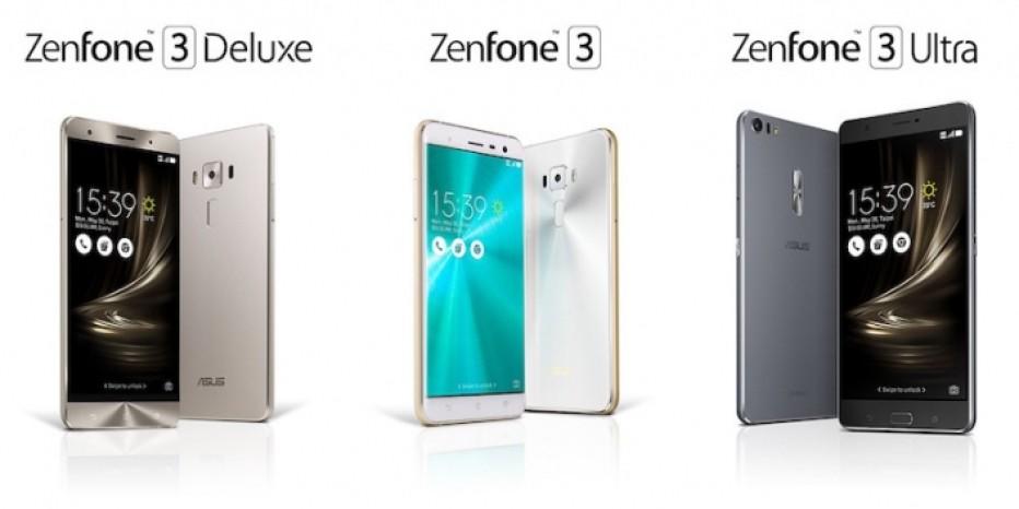 ASUS presents three ZenFone smartphones