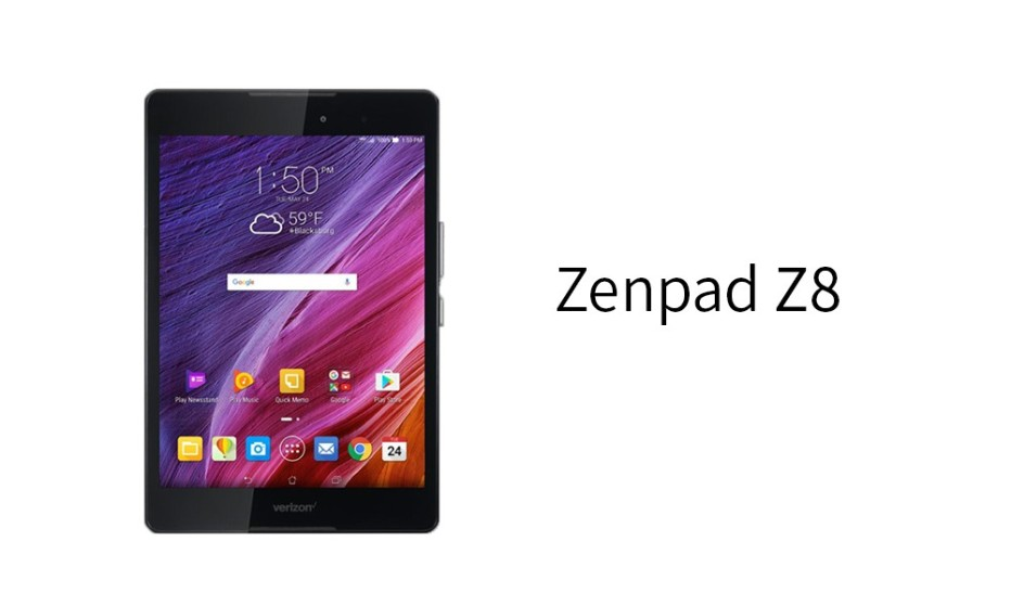 ASUS prepares Zenpad Z8 tablet for the US market