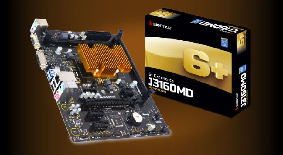 Biostar presents the J3160MD motherboard