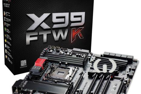 EVGA reveals the X99 FTW K motherboard