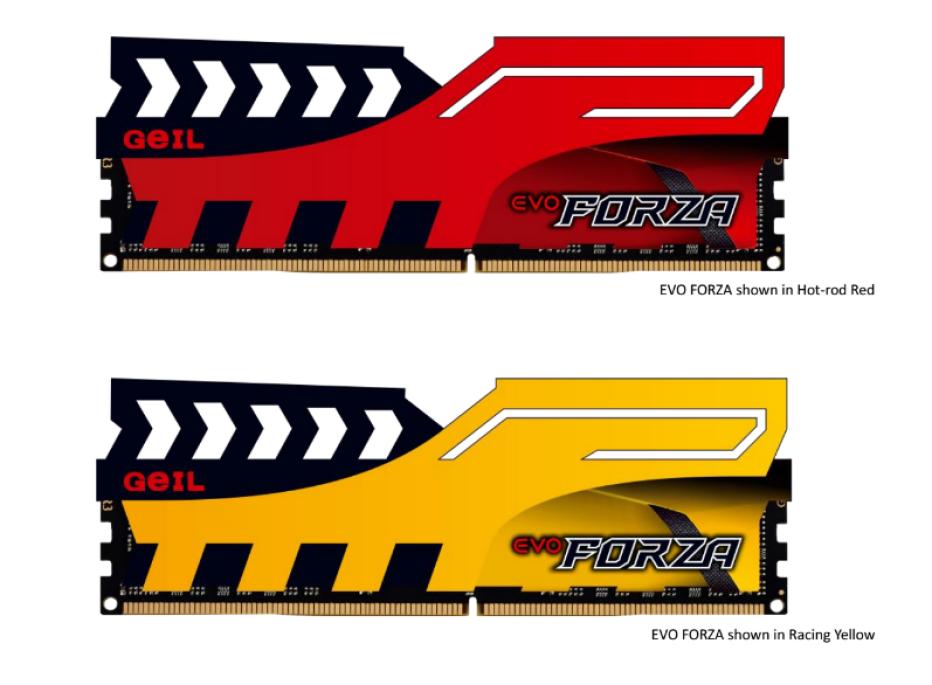 GeIL presents Evo Forza DDR4 memory