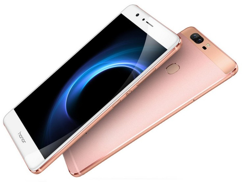 Huawei presents the Honor V8 smartphone