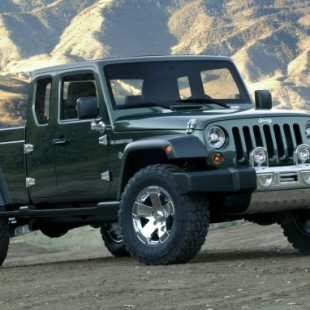 The Jeep Wrangler Pickup Truck is Almost Here