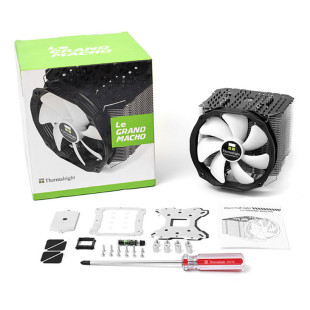 Thermaltake debuts the Le Grand Macho RT CPU cooler