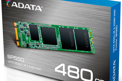 ADATA releases the Premier SP550 M.2 2280 SSD line
