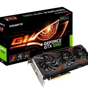 Gigabyte announces GeForce GTX 1080 G1 Gaming video card