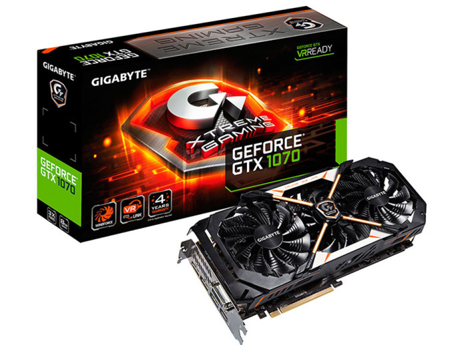Gigabyte unveils the GeForce GTX 1070 Xtreme Gaming video card