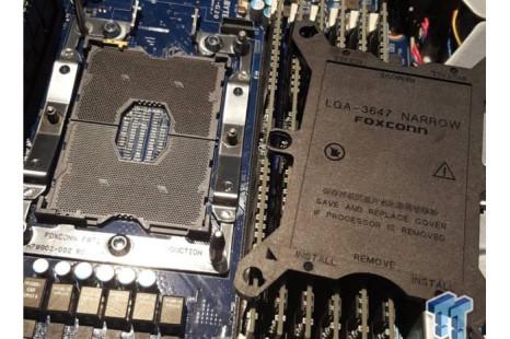 Intel readies LGA 3647 socket for Skylake-E processors